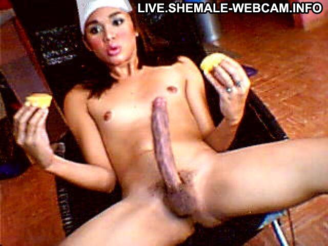 Shemale big dick webcam