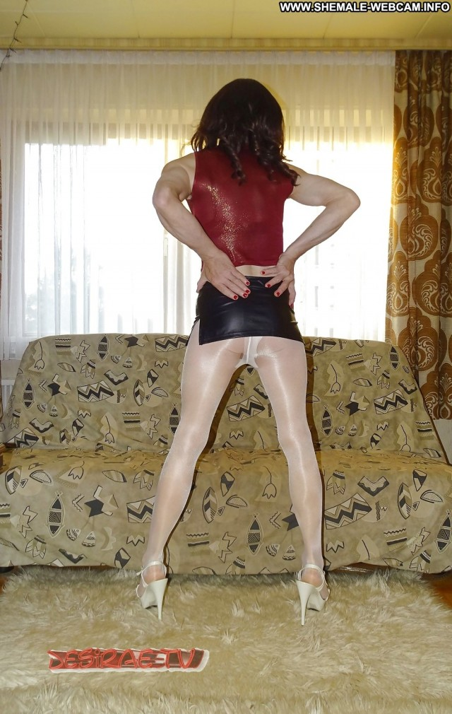 Jannette Private Pics Pantyhose Shower Stockings Ladyboy Wet